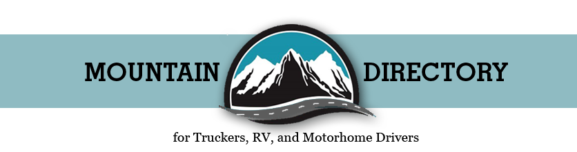 Logo for Mountain Directory guide for truckers